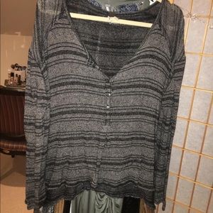 Free People Knit LS Top